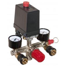 Автоматика компрессора 220 вольт 20А в сборе тип 3 Профи