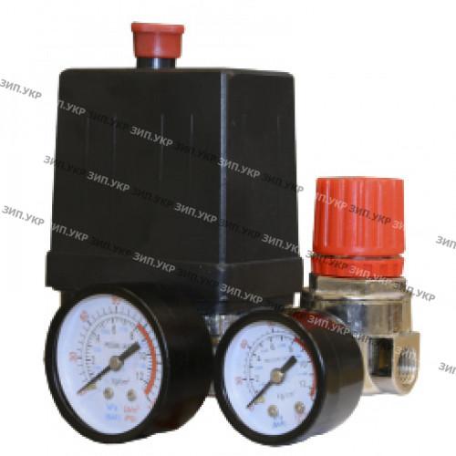 Автоматика компрессора 220 вольт 20а в сборе тип 2