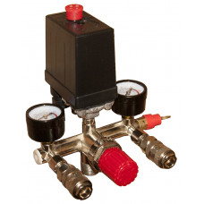 Автоматика компрессора 220 вольт 20А в сборе тип 1 Профи