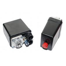 Прессостат компрессора 220 вольт 20А 1 выход