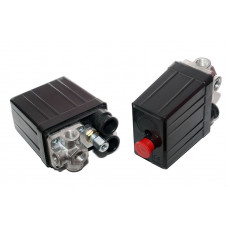 Прессостат компрессора 220 вольт 20А 4 выхода