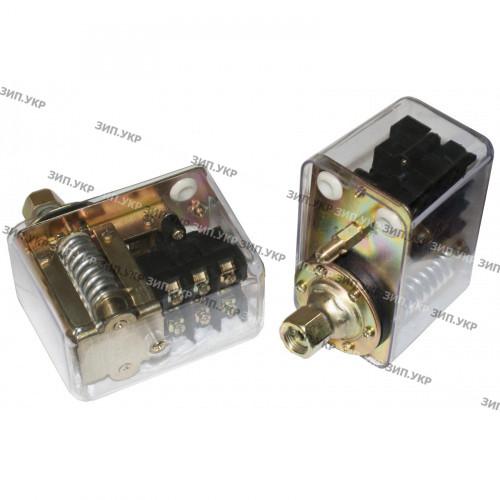 """Пресостат компресора регульований (автоматика компресора) 380 вольт 20а 1 вихід (гайка 3/8 """")"""