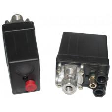 Прессостат компрессора 380 вольт 20А 4 выхода