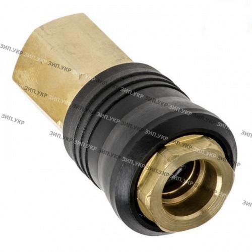 """Швидкороз'ємне з'єднання компресора внутрішня різьба G1/4"""" латунь"""