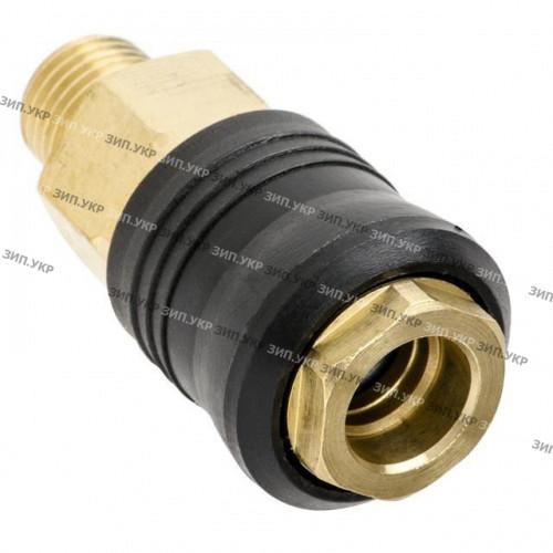 """Швидкороз'ємне з'єднання компресора зовнішня різьба G1/4"""" латунь"""