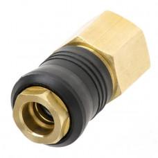 """Швидкороз'ємне з'єднання компресора внутрішня різьба G1/2"""" латунь"""