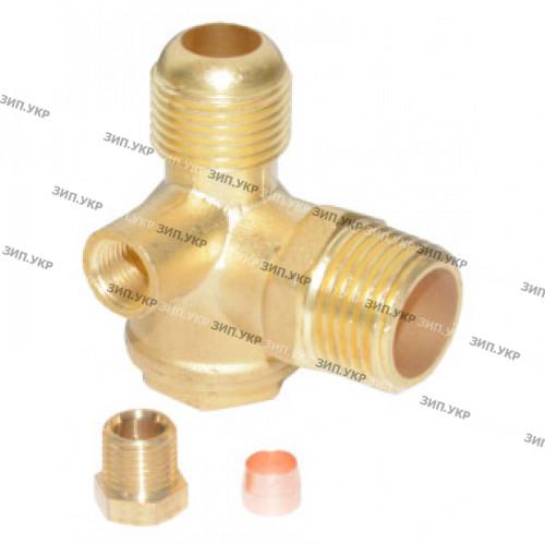 Обратный клапан компрессора 18,7mm-1/2-6mm цанга